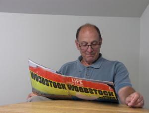 Jim Petrillo jogs his Woodstock memory